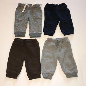 Baby Gap sweatpants 3-6m Lot Of 4